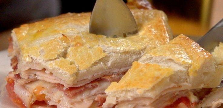 KentuckyHotBrownHeader | Kentucky Hot Brown Sandwich *to make for lchf use fathead pizza dough
