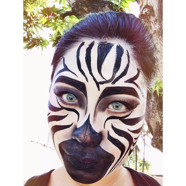 Zebra by kayemraposas. Tag your pics with #Halloween and #SephoraSelfie on Sephora's Beauty Board for a chance to be featured!