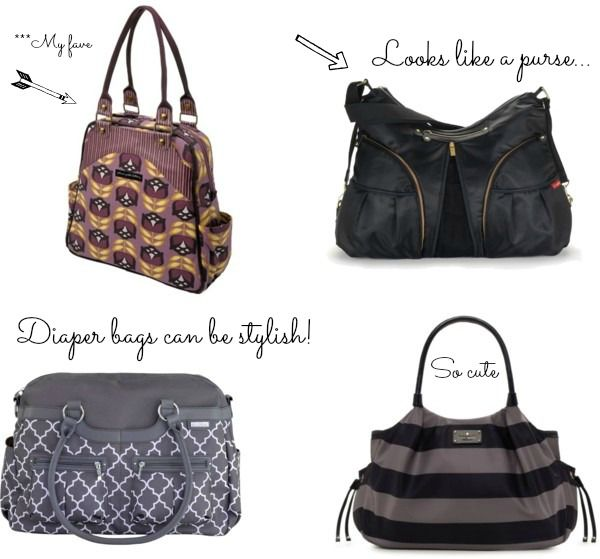 Cutest Diaper Bags- Stylish and Chic diaper bags every new mom should have!