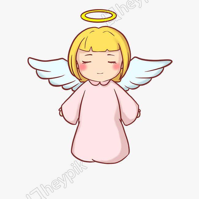 Angel Alas Angel Infantil Dibujado A Mano Ilustracion Archivo Png Y Psd Angel Ilustracion Angeles De Navidad Imagenes De Angeles