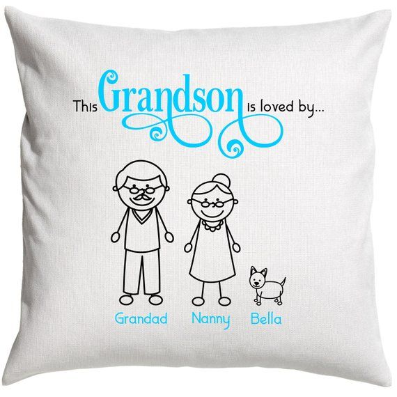 Grandson cushion pillow cover