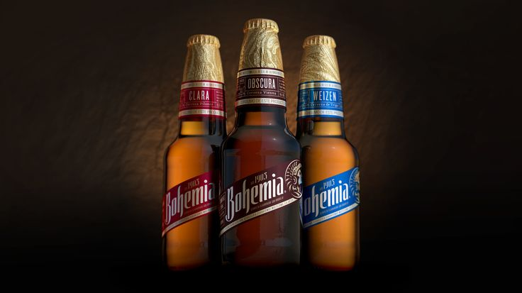 Bohemia Beer — The Dieline - Branding & Packaging