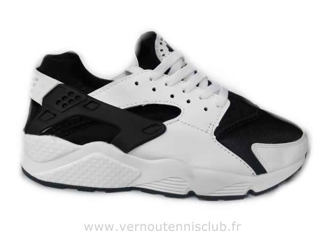 Nike Air Huarache Homme noir et en couleurs mixtes blancs
