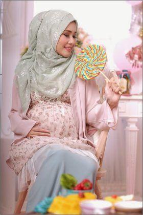 Tips Memilih Model Baju Hamil Muslim