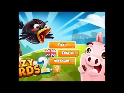 Crazy Birds 2   Adventure games Angry Birds Games