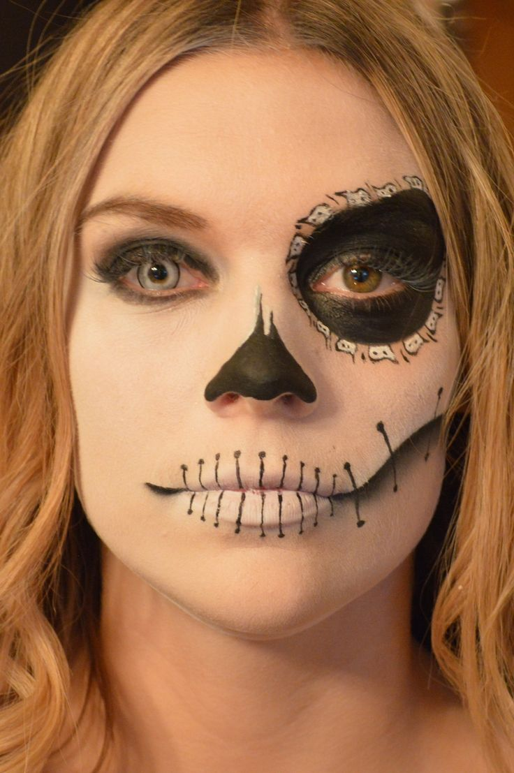best maquillage images on pinterest make up sugar skull and