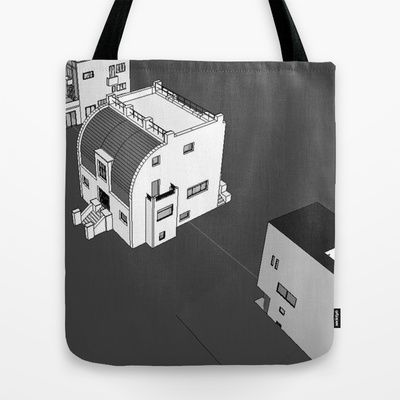 LOOS UTOPIA 1 Tote Bag $22.00 us