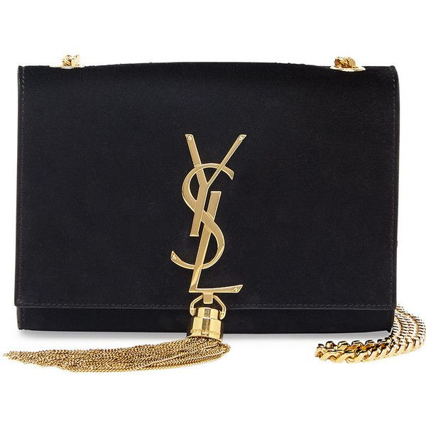 ysl discount handbags - yves saint laurent monogram small fringed suede cross-body bag ...