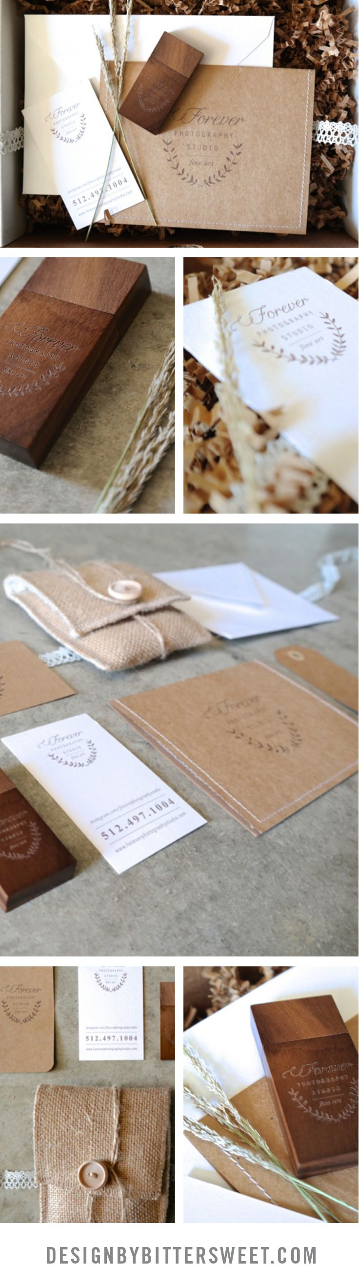 Boutique Packaging for Wedding Photographers usb design