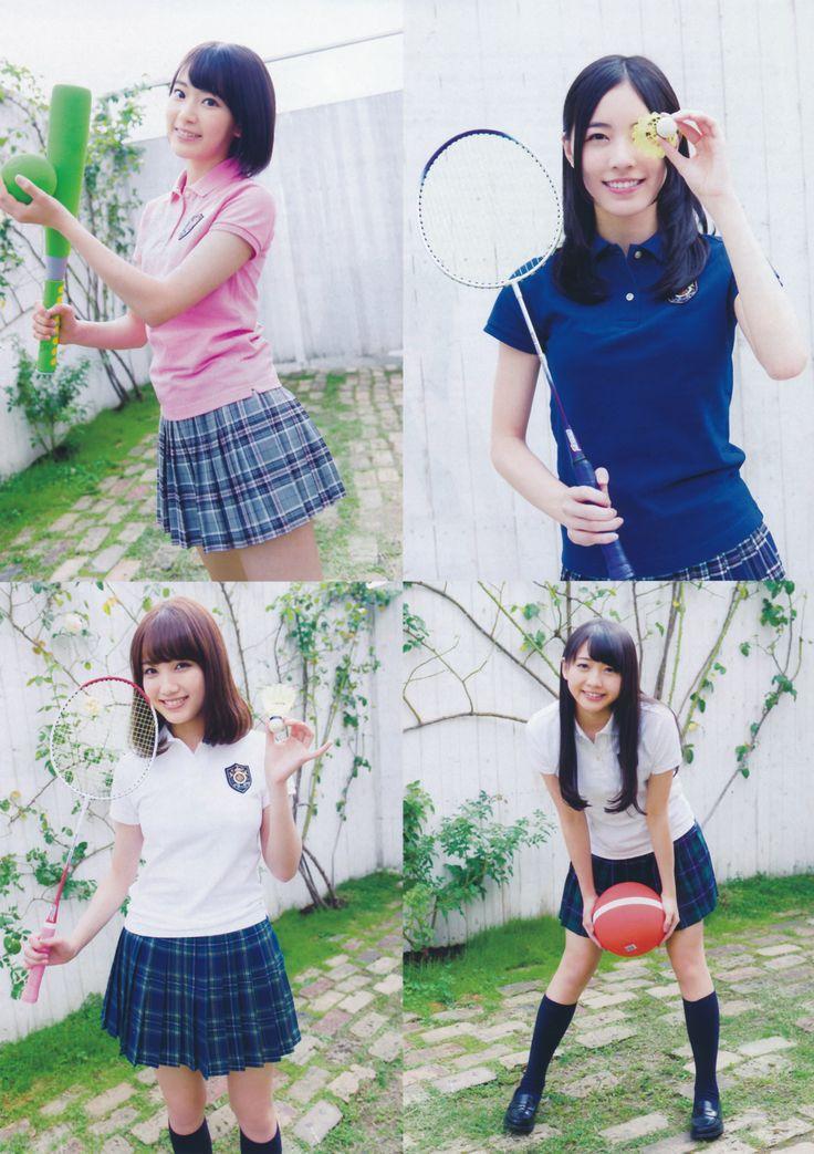 Miyawaki Sakura (宮脇咲良) ; Matsui Jurina (松井珠理奈) ; Kato Rena (加藤玲奈) ; Kizaki Yuria (木﨑ゆりあ) #AKB48 #SKE48 #HKT48 #japan #Akihabara #idols