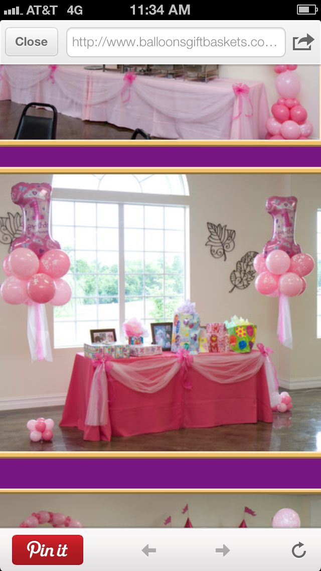 Idea for balloons.