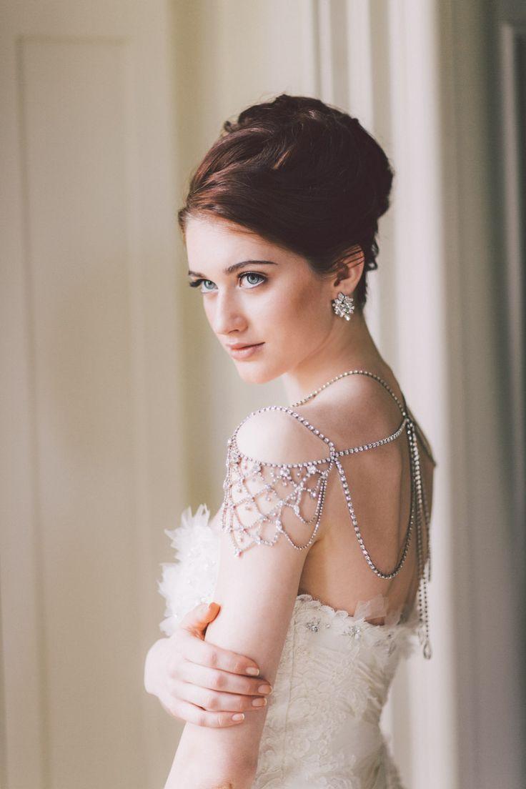 best dresses images on pinterest shoulder necklace wedding