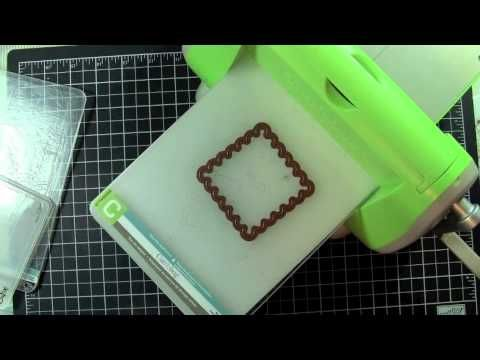 Today's video is how to use other types of dies in your Cuttlebug machine.     visit http://www.creationswithchristina.com for more information
