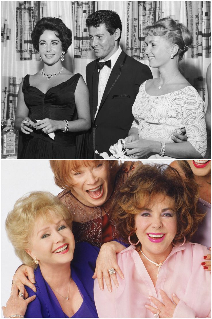 11. Debbie Reynolds e Elizabeth Taylor