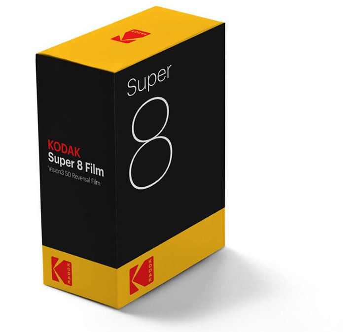 """Kodak is the latest company to undergo a retro rebranding, reverting to its symbol of 34 years. The Kodak """"K"""" is back, originally designed by Peter J. Oestreich in 1971 and used by the photography brand until 2006, though the new iteration by Work-Order uses stacked capitalised type for the word Kodak inside the letterform."""