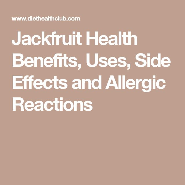 Jackfruit Health Benefits, Uses, Side Effects and Allergic Reactions Read more in http://natureandhealth.net/