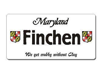 USA Nummernschild Maryland mit individuellem Wunschtext bedruckt - Hausnummern und Schilder online kaufen