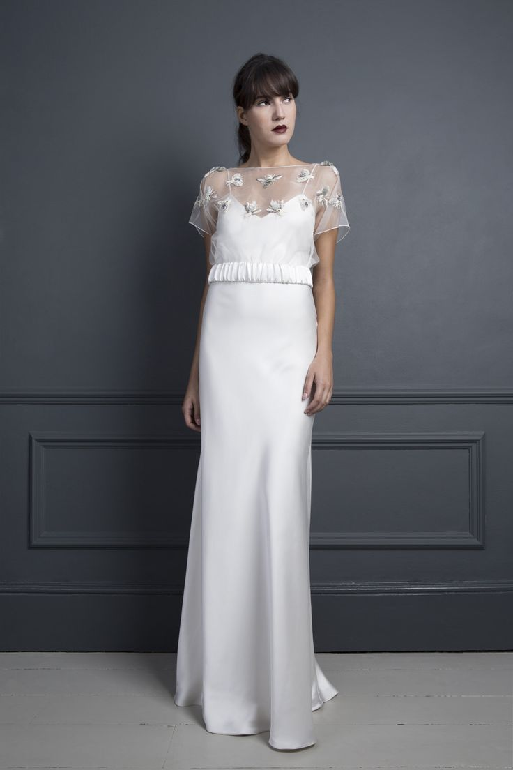 Halfpenny london wedding dresses aw standing on stardust