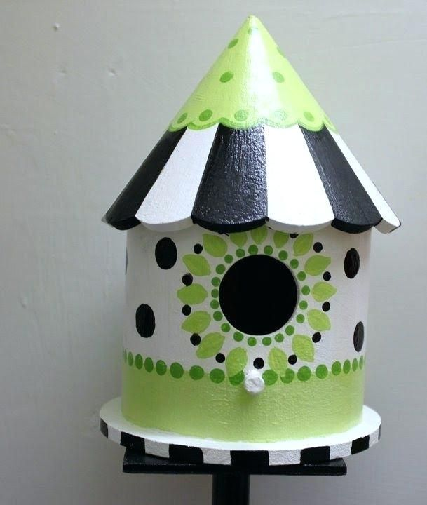 Birdhouse Painting Ideas For Painting Birdhouses Birdhouse