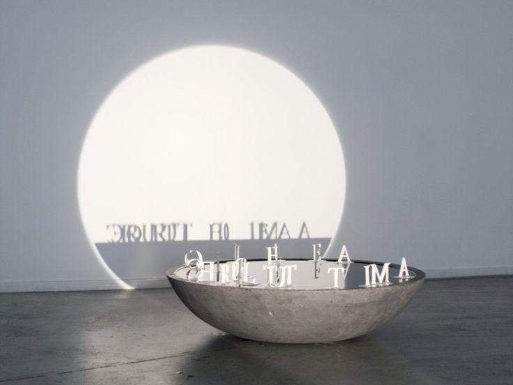 'Words and Dreams' – shadow art by Fred Eerdekens