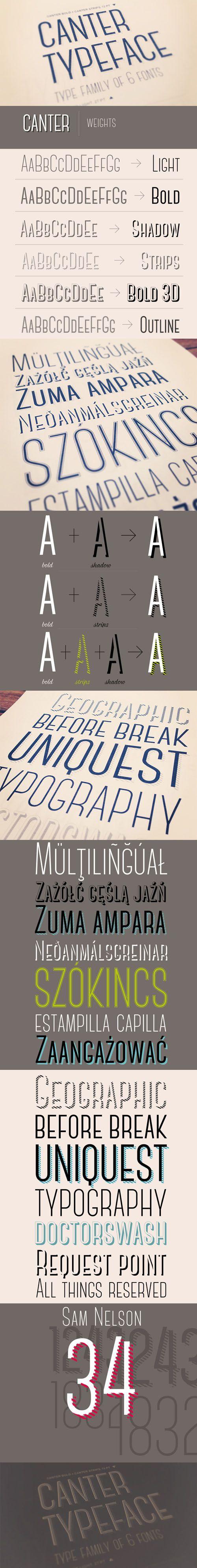 Canter Contemporary Font
