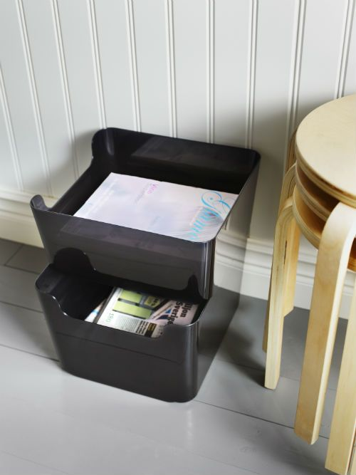 Pluggis Recycling Bin White Home Offices Ikea