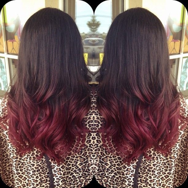 Love the red ombré