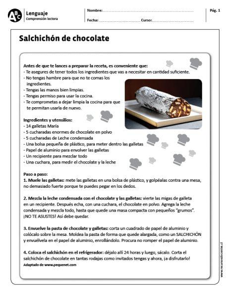 "Salchichón de chocolate"""