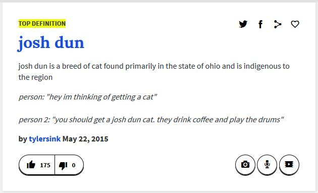 Urban Dictionary definition of Josh Dun They actually drink a lot of red bull