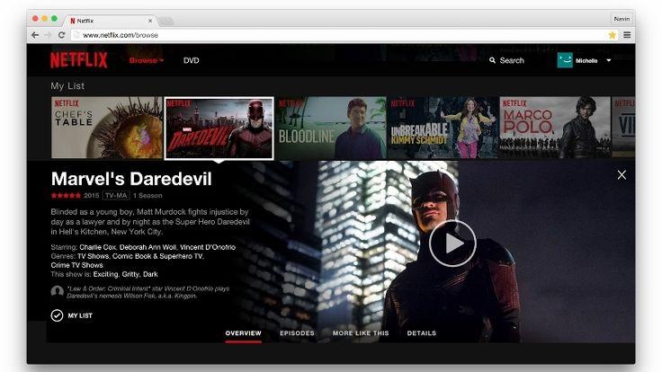 Netflix Website Gets Long Overdue Makeover