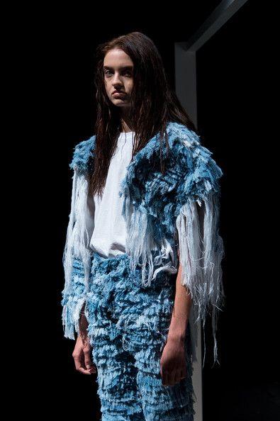 Faustine Steinmetz: Presentation - London Fashion Week SS15