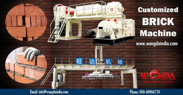 Brick Making Machine Manufacturers in India and China!!!! Website: http://wangdaindia.com/