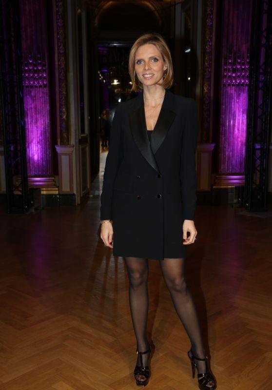 Sylvie Tellier at Yanina Haute Couture Fashion Show in Paris 01/23/2018