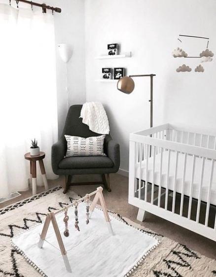 Bestes Babyzimmer Neutral Kinderzimmer Design Schwarz Weiß 67 Ideen