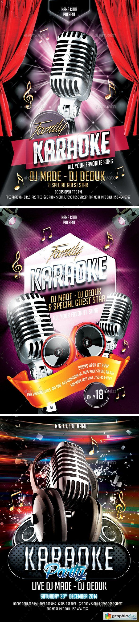 Karaoke Bundle & 17 Best images about Karaoke templates on Pinterest Pezcame.Com