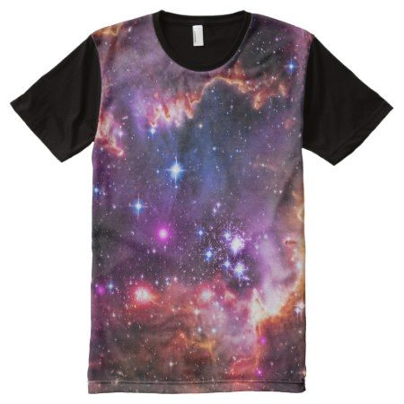 Jewelled dazzling starry space picture, smc All-Over-Print T-Shirt - tap, personalize, buy right now!