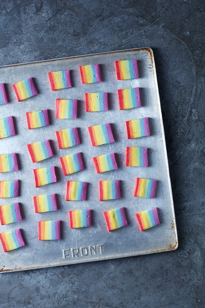 Rainbow Fudge Photo: Danielle wood Mima sinclair