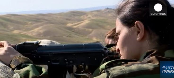 She Left Home To Fight Isis In Iraq And Syria - http://garnetnews.com/2016/05/25/left-home-fight-isis-iraq-syria/