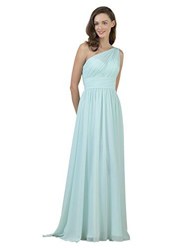 ec667658faf Alicepub One Shoulder Bridesmaid Dress For Women Long Evening Party Gown  Maxi Buy New   49.99 (On sale from  50.00) -  79.99