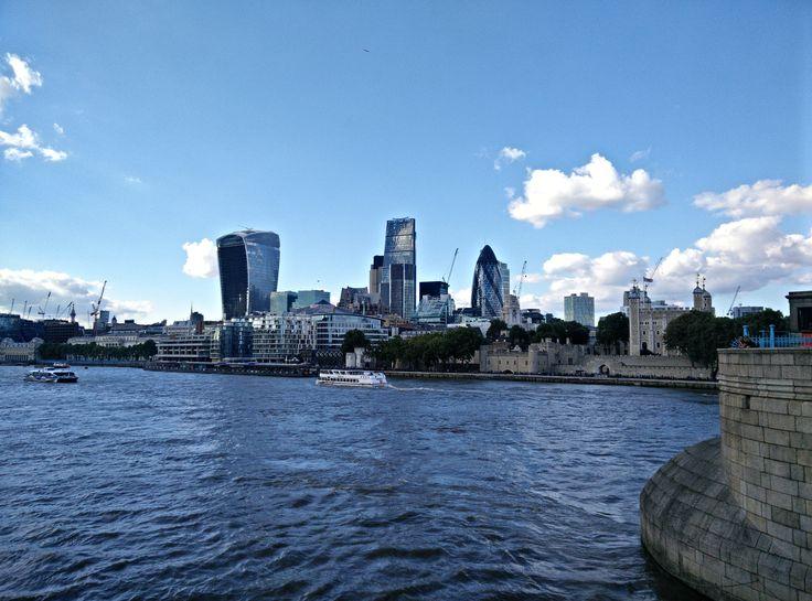 The Walkie Talkie from Tower Bridge #20FenchurchStreet