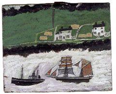 by Alfred Wallis (1855-1942) British artist and mariner