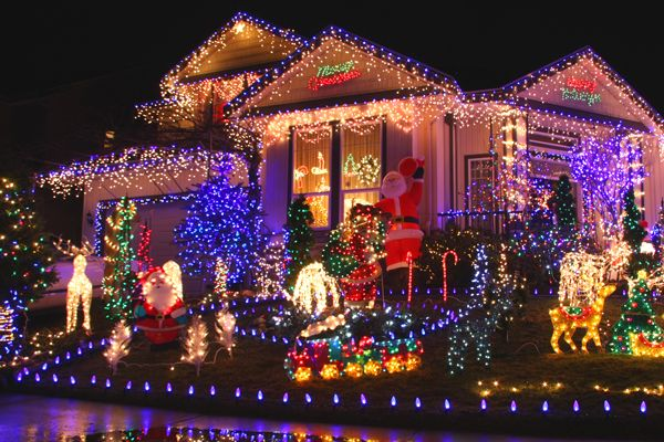 San Diego's BEST (& the original) Map of Christmas Lights!
