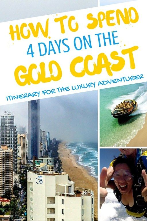 How to spend 4 days on the Gold Coast Australia