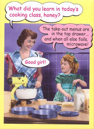 When I wanted to be a home ec teacher, this was my motto, but I could sew and craft everything and teach it.. LOL!