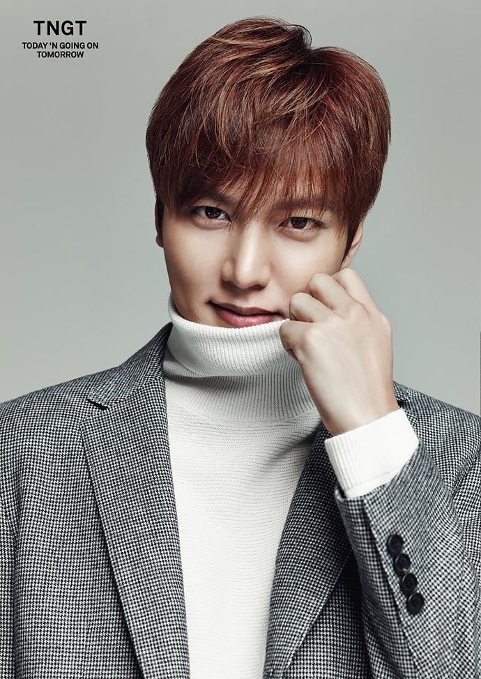 Lee Min Ho for TNGT F/W 2015