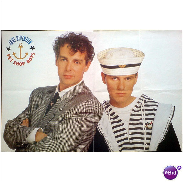 Pet Shop Boys Centre Poster Sailor Theme