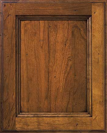 Rustic Hickory Kitchen Cabinet Doors