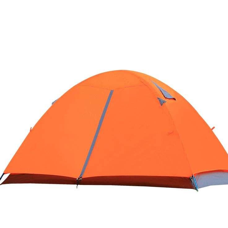 58.99$  Watch now - http://ali68r.worldwells.pw/go.php?t=32613890878 - Outdoor 2 People Camping Tent Backpacking Double Layer Waterproof Gazebo Fishing Beach Awning Quechua Tenda Roof Tents ET12 58.99$
