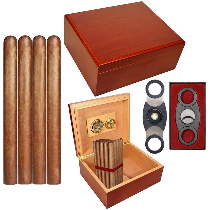 CubanCrafters - Cigar Humidor with Cigars Gift Set Combo Mio Humidor 25 Tony Alvarez Churchill and Perfect Cutter, $85.00 (https://www.cubancrafters.com/cigar-humidor-with-cigars-gift-set-father/)