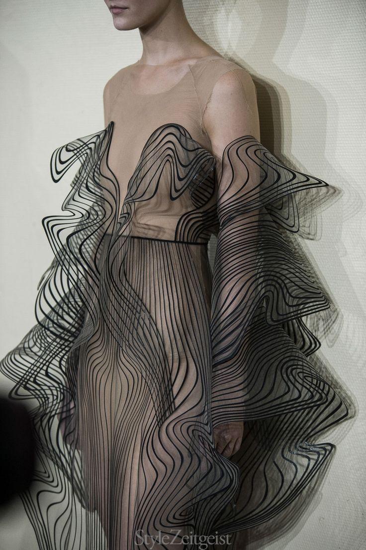 Iris van Herpen F/W17 Couture - Backstage - fashion -